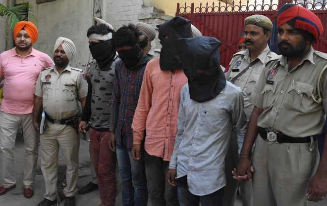 Two gangs busted, 9 nabbed in city