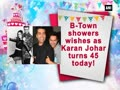 B-Town showers wishes as Karan Johar turns 45