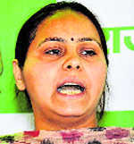 CA of Lalu daughter held for laundering