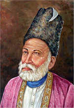 'Anti-national' poet Ghalib defends self