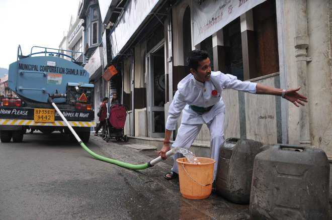 Water Crisis Major Issue For Shimla Residents