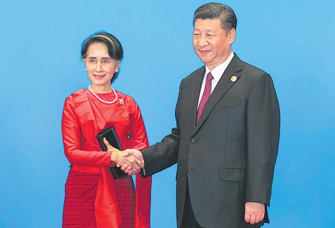 Myanmar looks to China