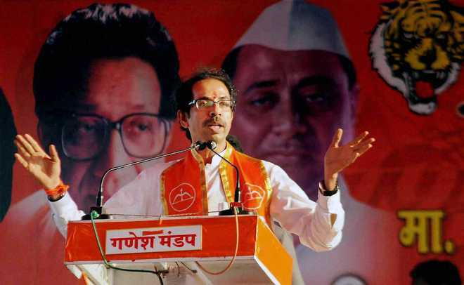 Will J&K be part of India, Sena asks BJP