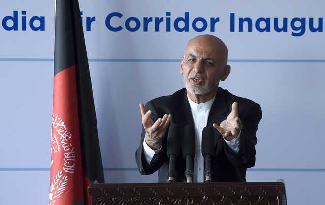 Afghan Prez inaugurates first air corridor with India, bypassing Pak