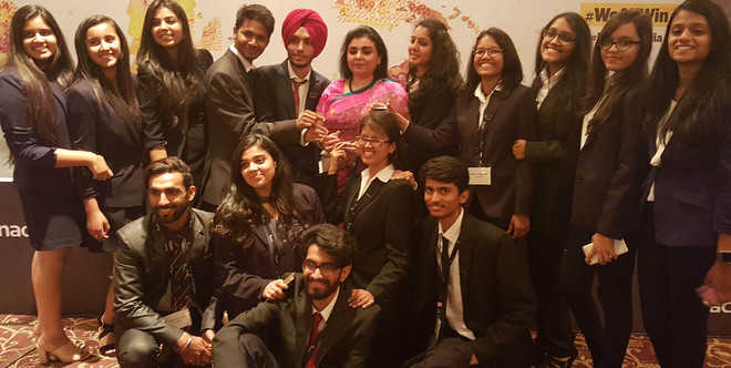 PU's Enactus team bags trophy for its projects