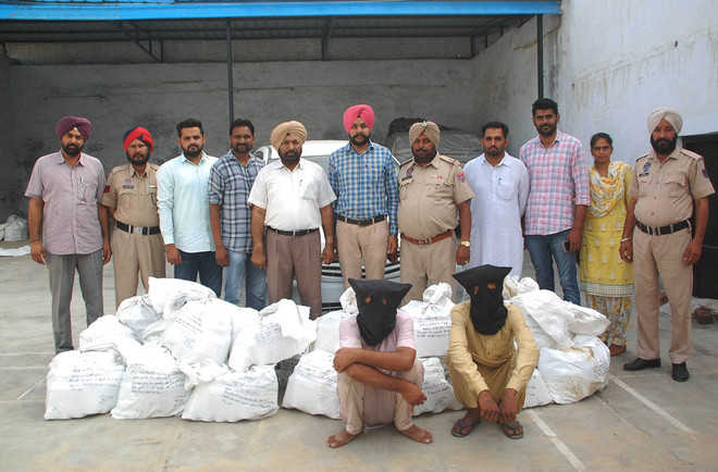 85 boxes of illicit liquor seized; two arrested