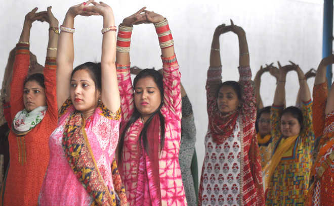 Yoga Day a damp squib at govt schools