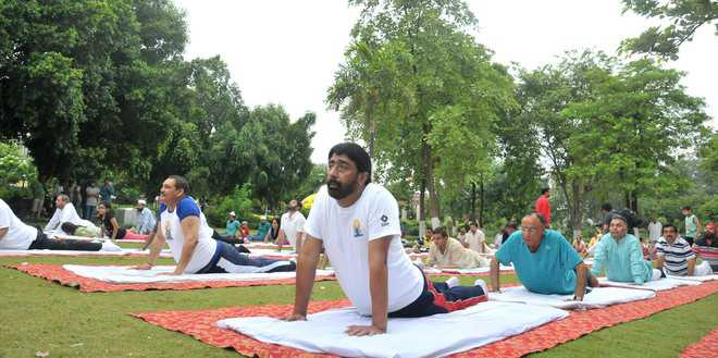 Day of asanas, meditation, well-being