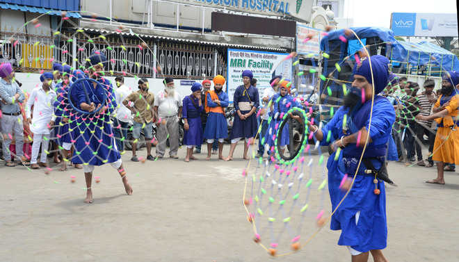 Panthic bodies observe Gatka Diwas in city