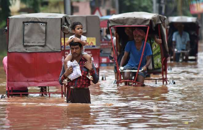 waterlogging in guwahati After heavy rains caused severe waterlogging in guwahati - assam's largest city - water pumps were deployed to drain excess water from roads on wedne.