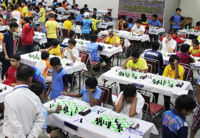 National U-13 chess tournament begins