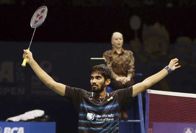 Srikanth in semis, Sindhu crashes out of Australian Open