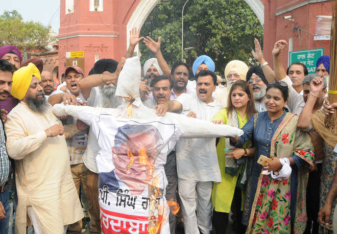 AAP calls House scenes 'jungle raj'