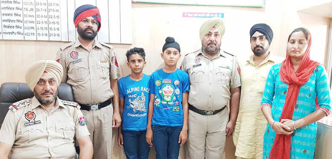 Missing kids found in gurdwara, police quash abduction case