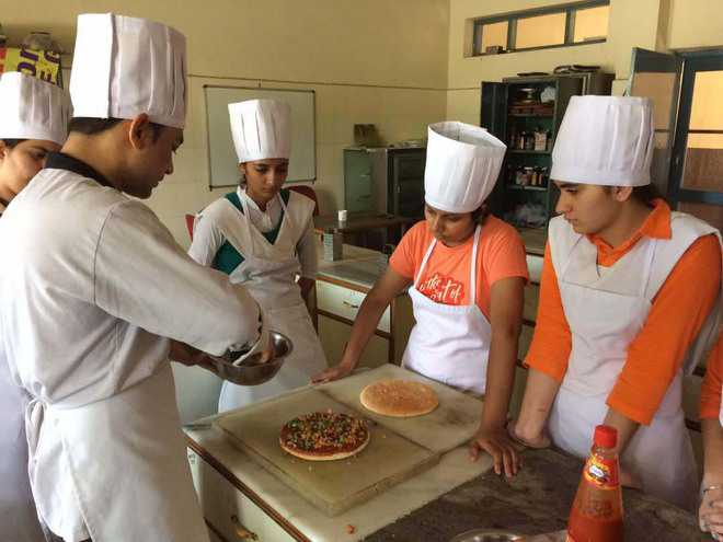 Culinary workshop held at Cordia Institute