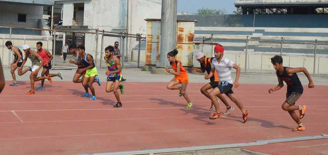 200 test mettle in trials for track & field events