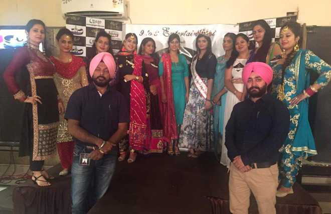 Married women get chance to walk the ramp