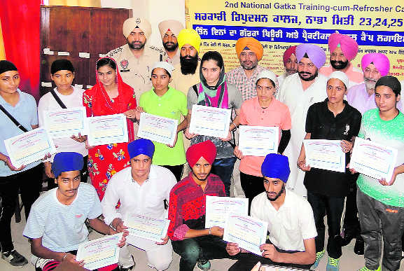 Will promote 'gatka', says Dharamsot