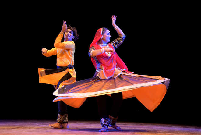 Kathak performance charms audience