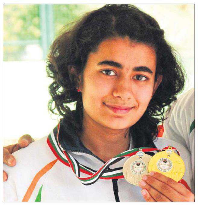 Deswal bags gold, equals world record