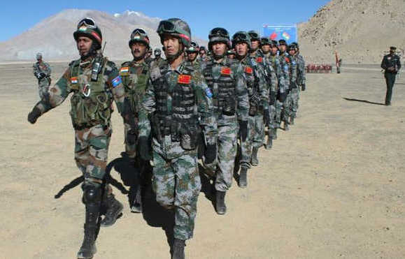Chinese troops transgress Sikkim sector, jostle with Indian forces