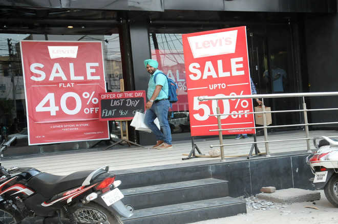 City awash with pre-GST discount offers
