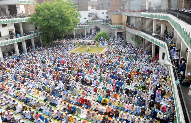 Special prayers to celebrate Eid held in city