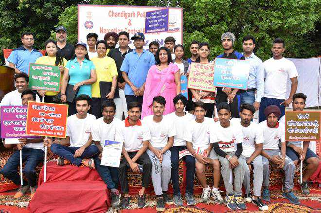Walkathon to create awareness against drugs