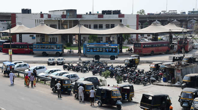 Faulty planning renders Zirakpur bus stand useless