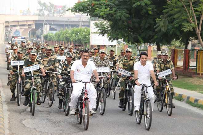 BSF holds rally against drugs