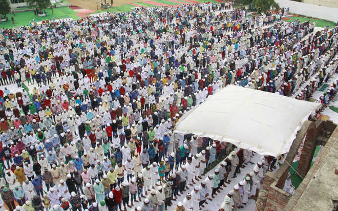 Eid celebrated with fervour