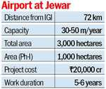 New airport in Noida to ease IGI load