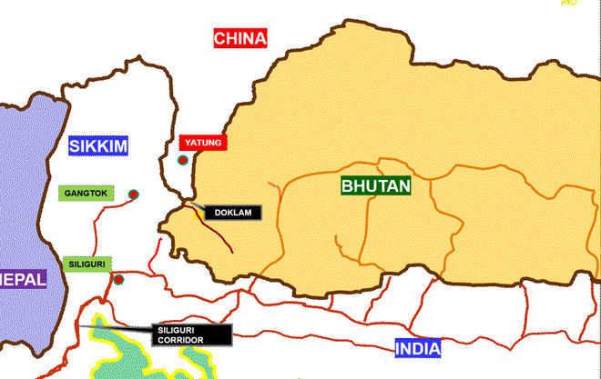 China releases map to prove doklam claim gumiabroncs Choice Image