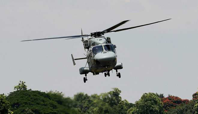 Search on for missing IAF helicopter