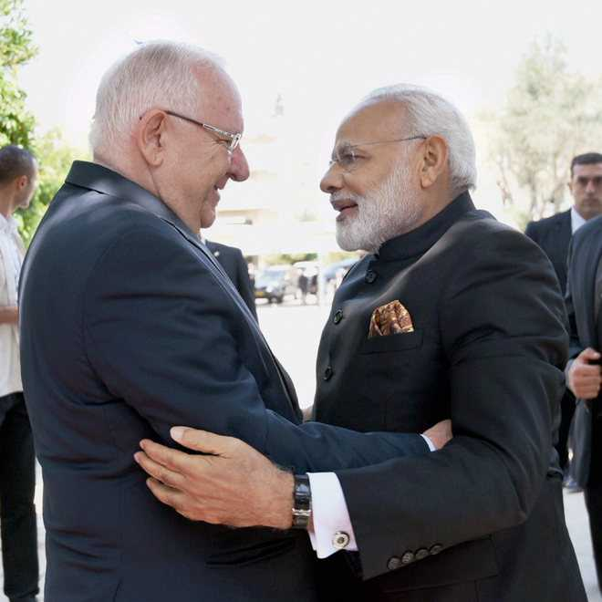 India, Israel take ties beyond defence