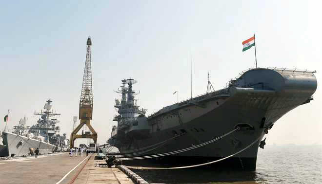 In a first, 3 aircraft carriers to operate in Bay of Bengal