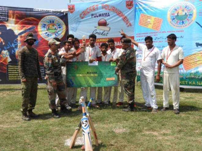 On Burhan death anniv, Army holds match in his home dist