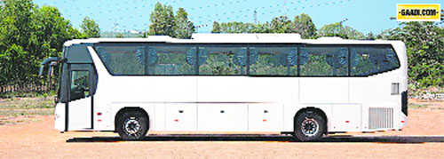 Luxury public buses to curb private vehicle use