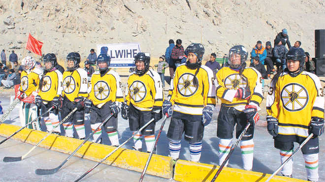 Girls in Ladakh overcome obstacles, scale new heights
