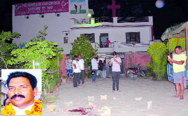 Pastor shot dead outside Ludhiana church