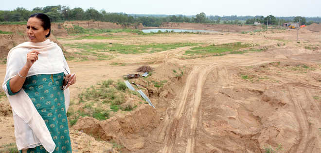 Illegal mining rampant in Mohali villages