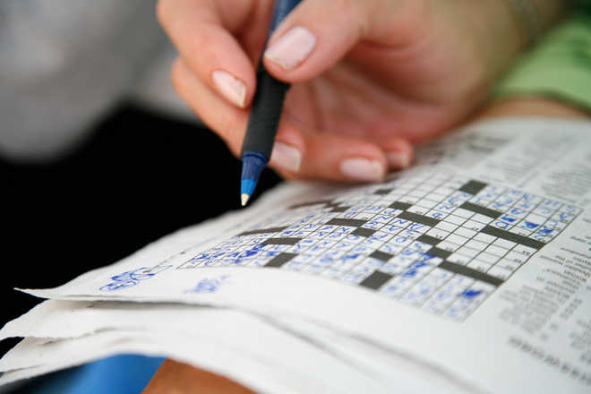 Solving crosswords may keep your brain sharp in later life