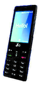 Now, a Jio 'smartphone' that's almost free