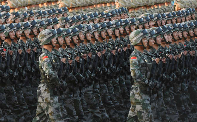 Countdown to military clash begins: Beijing daily