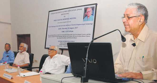 Former VCs, colleagues remember Prof Yashpal