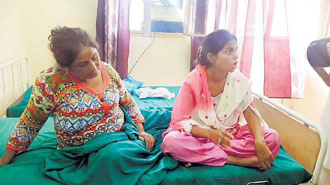 High drama as woman alleges assault by cops
