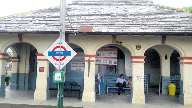 A railway station only in name