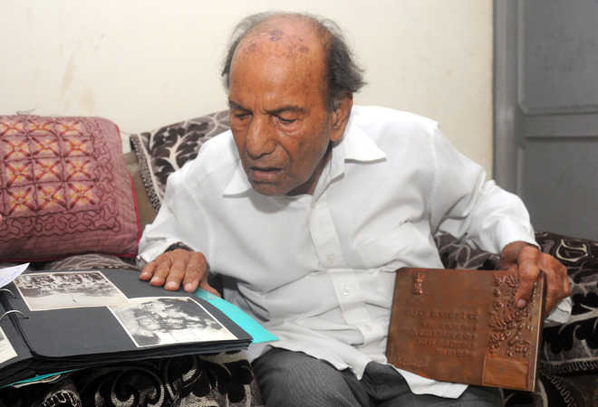An unsung freedom fighter from city