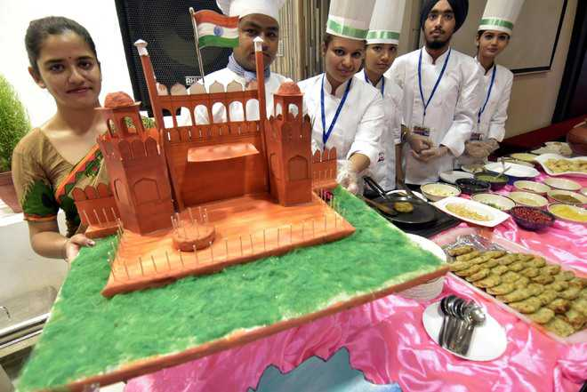 PCTE students get  the taste of India