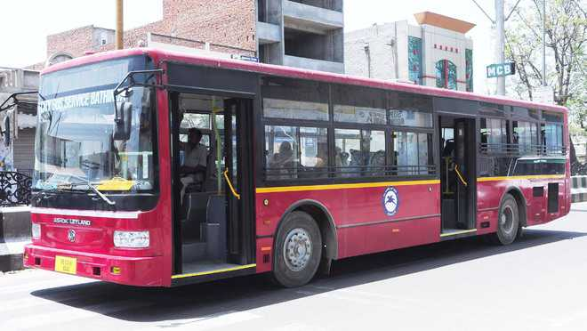 PRTC shows inability to run buses in city